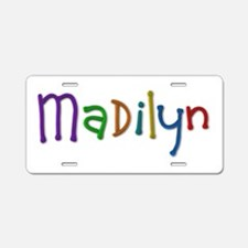 Madilyn Play Clay Aluminum License Plate