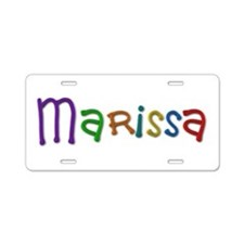 Marissa Play Clay Aluminum License Plate