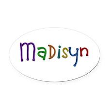 Madisyn Play Clay Oval Car Magnet