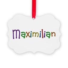 Maximilian Play Clay Ornament