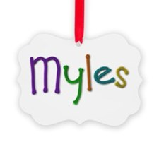 Myles Play Clay Ornament