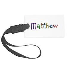 Matthew Play Clay Luggage Tag