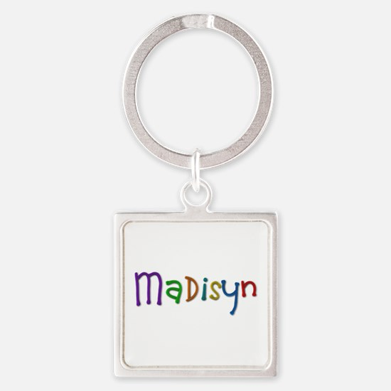 Madisyn Play Clay Square Keychain