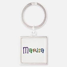Marisa Play Clay Square Keychain