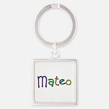 Mateo Play Clay Square Keychain