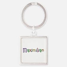 Maximilian Play Clay Square Keychain