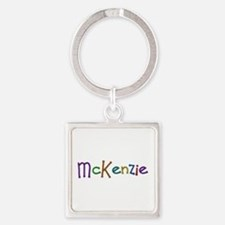 McKenzie Play Clay Square Keychain