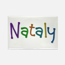 Nataly Play Clay Rectangle Magnet