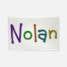 Nolan Play Clay Rectangle Magnet