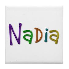 Nadia Play Clay Tile Coaster