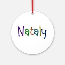 Nataly Play Clay Round Ornament