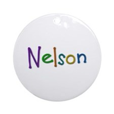 Nelson Play Clay Round Ornament