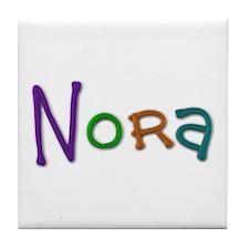 Nora Play Clay Tile Coaster