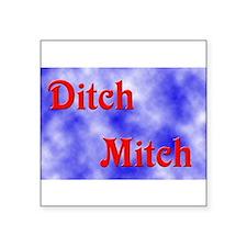 Ditch Mitch Rectangle Sticker