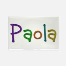 Paola Play Clay Rectangle Magnet