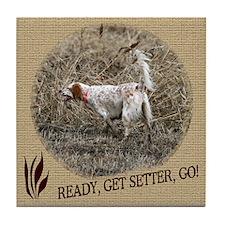 Ready, Get Setter, Go! Tile Coaster