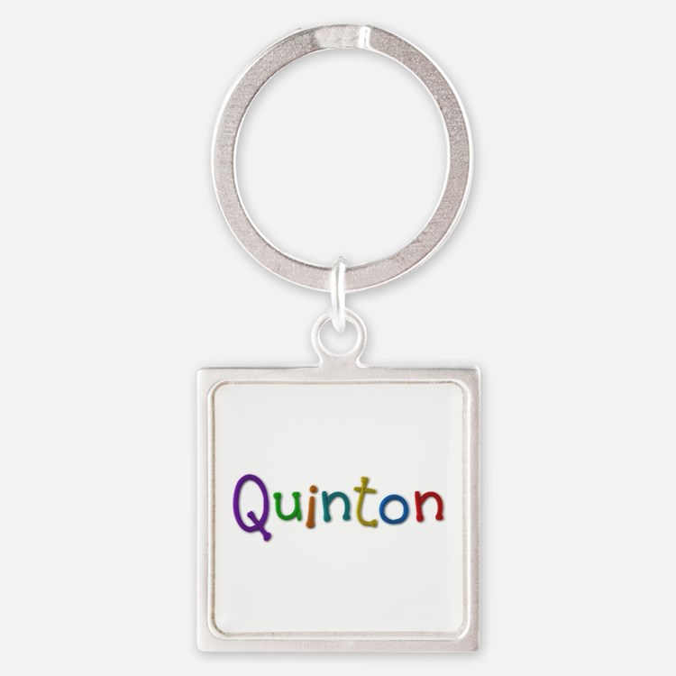 Quinton Play Clay Square Keychain