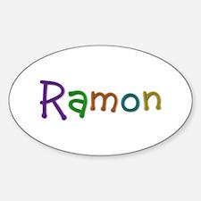 Ramon Play Clay Oval Decal