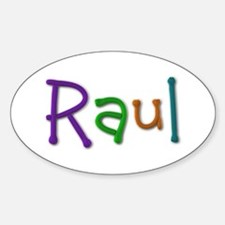 Raul Play Clay Oval Decal