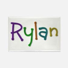 Rylan Play Clay Rectangle Magnet