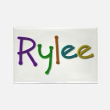 Rylee Play Clay Rectangle Magnet
