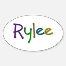 Rylee Play Clay Oval Decal