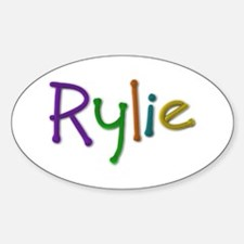 Rylie Play Clay Oval Decal