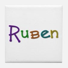 Ruben Play Clay Tile Coaster