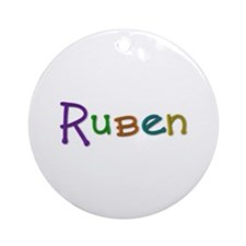 Ruben Play Clay Round Ornament