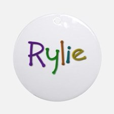 Rylie Play Clay Round Ornament