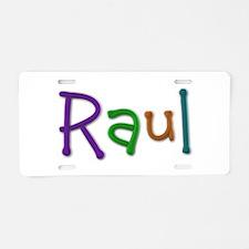 Raul Play Clay Aluminum License Plate