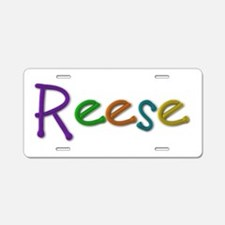 Reese Play Clay Aluminum License Plate