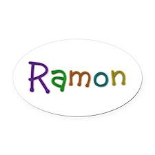 Ramon Play Clay Oval Car Magnet