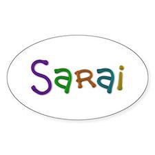 Sarai Play Clay Oval Decal
