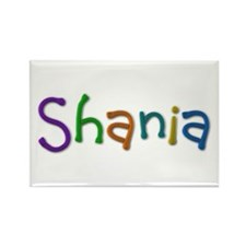 Shania Play Clay Rectangle Magnet