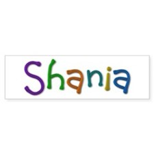Shania Play Clay Bumper Bumper Sticker