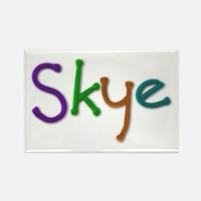 Skye Play Clay Rectangle Magnet