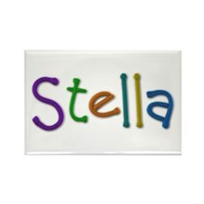 Stella Play Clay Rectangle Magnet