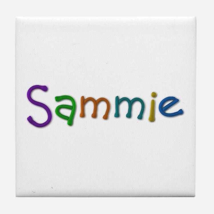 Sammie Play Clay Tile Coaster