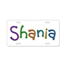Shania Play Clay Aluminum License Plate