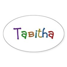 Tabitha Play Clay Oval Decal