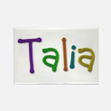 Talia Play Clay Rectangle Magnet