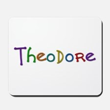 Theodore Play Clay Mousepad