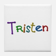 Tristen Play Clay Tile Coaster