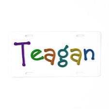Teagan Play Clay Aluminum License Plate
