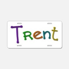 Trent Play Clay Aluminum License Plate