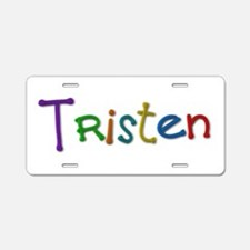 Tristen Play Clay Aluminum License Plate