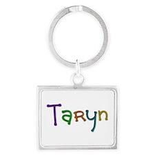 Taryn Play Clay Landscape Keychain
