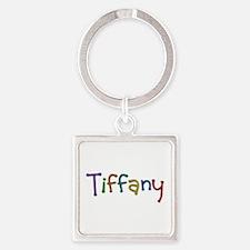 Tiffany Play Clay Square Keychain