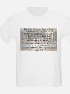 Luke 4:18 T-Shirt